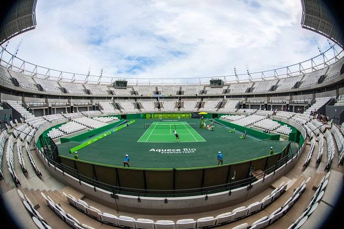 10.12.2015.Evento-Teste: Tênis.Parque Olímpico. Rio de janeiro. Barra. BRASIL.